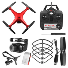 F68 Optical Flow ABS Toys Headless Mode Wide Angle RC Quadcopter Drone HD Camera Gift Flying Helicopter Track Flight Real Time