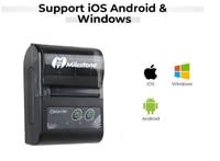 mini wireless bluetooth Milestone 2inch Mini Bluetooth Receipt Printer Thermal Portable Wireless bill ticket Android IOS Pocket Printer small MHT-P10 (3)