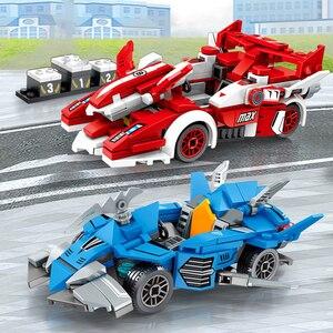 Image 5 - Snelheid Kampioen Supercar Compatibel Racing Bricks Auto Sport Roadster Bouwstenen Educatief Diy Speelgoed Voor Kid Kinderen Gifts
