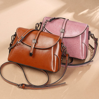 Fashion Shoulder Bags for Women Western Style Diagonal Bag Leather Female Crossbody Luxury Designer Shell Woman Channels