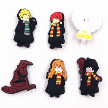 1pcs Hot filme Pinos Broche Crachá Escola Hogwarts de Harry Potter Gryffindor Slytherin Hufflepuff Ravenclaw Emblema Cosplay Gift Collection(China)