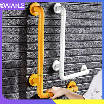 Barrier-free Handrail Stainless Steel Bathroom Shower Grab Bars for Elderly Disabled Anti-slip Bathtub Safety Handle Wall Mount taken on airplane durable folding electric wheelchair for disabled and elderly