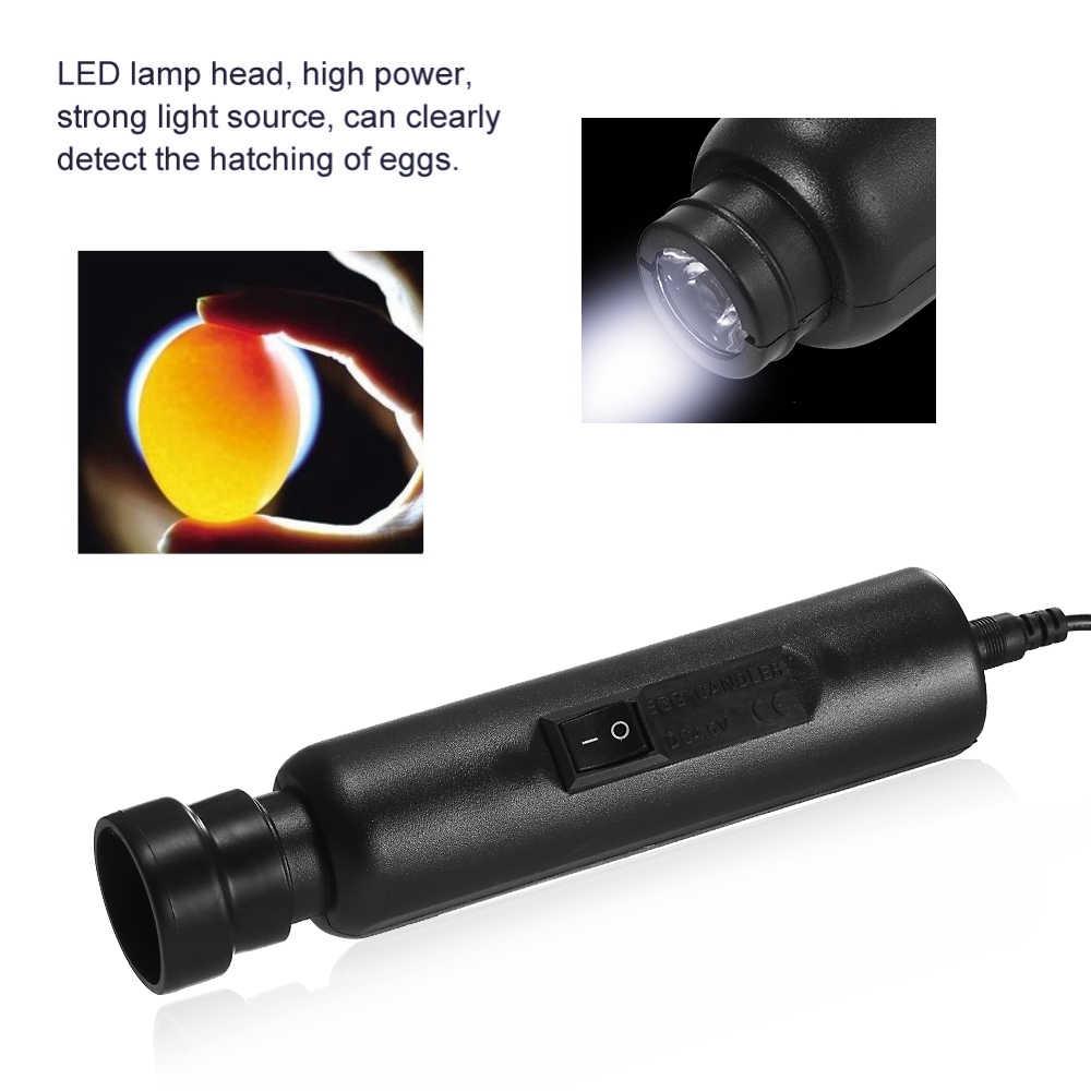 Probador de huevos, candelabro, lámpara LED brillante de alta intensidad para la monitorización de huevos, pollos, huevos de codorniz, Incubadora