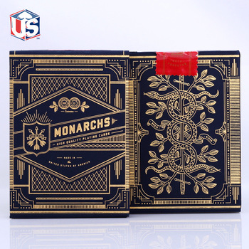 1 Deck of Theory11 Monarch Playing Cards Monarchs Deck T11 Poker Magic Cards Close Up Magic Tricks for Professional Magician tally ho playing cards magic deck magic tricks cardistry deck