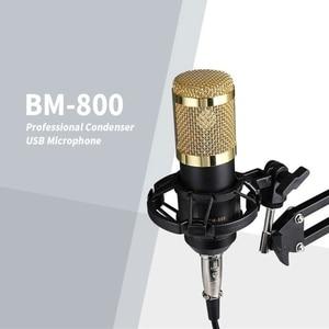 Image 4 - Condenser Microphone Bundle BM 800 Mic Set for Stu dio Recording & Brocasting Microphone Kit for Pc Computer