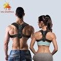 Мужской Корректор осанки NO.ONEPAUL, регулируемый корсет для верхней части спины, плеча, поясницы, Прямая поставка