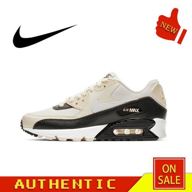 Original Authentic NIKE AIR MAX 90 ESSENTIAL Men's Running Shoes Outdoor Fashion Sports Breathable 2019 New 325213-138