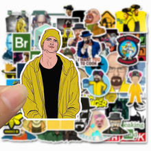 10/30/50 PCS Anak Breaking Bad Tahan Air Stiker Skateboard Koper Gitar Anak Perempuan Lucu Graffiti Sticker Anak-anak Klasik mainan(China)