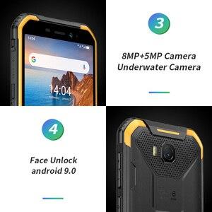 Image 4 - Osłona Ulefone X6 IP68 wodoodporny smartfon MT6580 czterordzeniowy Android 9 odblokowanie twarzą 2GB 16GB, 4000mAh 3G wersja globalna telefon