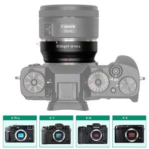 Image 3 - Адаптер для объектива фотокамеры Fringer EF FX II с автофокусом AF для объектива Canon Sigma EF для Fujifilm FX Camera XT3 XT2 XT4