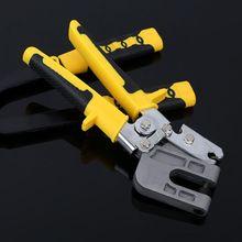 Multifunction Handle Stud Crimper Plaster Board Drywall Single Pliers Hand Tool