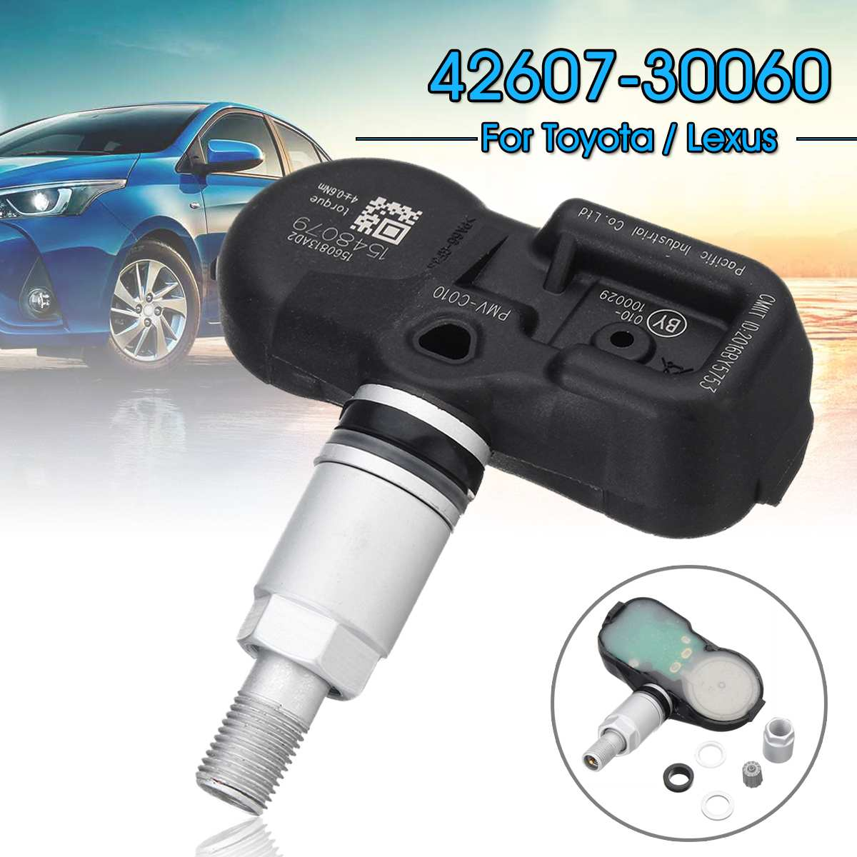 Tire Pressure Sensor TPMS For Toyota Camry For Lexus GS350 42607-30060 42607-06020