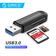ORICO High Quality USB 3.0 All in 1 Multi Memory Card Reader for SD & TF Cards-Black