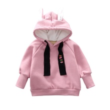 New Toddler Girl Clothes Set sweathirts Winter Warm Long Sleeve Baby T-Shirt Hooded+Pants 2PCS Kids Clothes For Girls set #C 2pcs set baby toddler winter set cartoon wool knitting hat scarf warm set infant toddler girls boy knitted keep warm clothes set