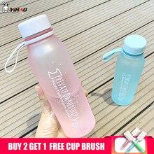 Keelorn 540ml Thermos Flasche Wasser Flasche Kunststoff Sport Peeling Leck Beweis Trinken Meine Flasche Tragbare Mode