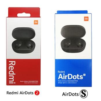 Hot Xiaomi Redmi Airdots 2 TWS Wireless Earphone Bluetooth AI Control Gaming Headset With Mic Original Xiaomi Airdots S Earbuds 6