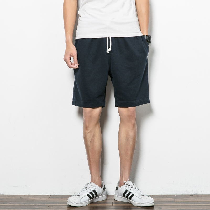 2020 Fashion Brand Cotton Shorts Men's Summer Trend To Increase The Size Of Leisure Beach Pants High Quality Sports Pants