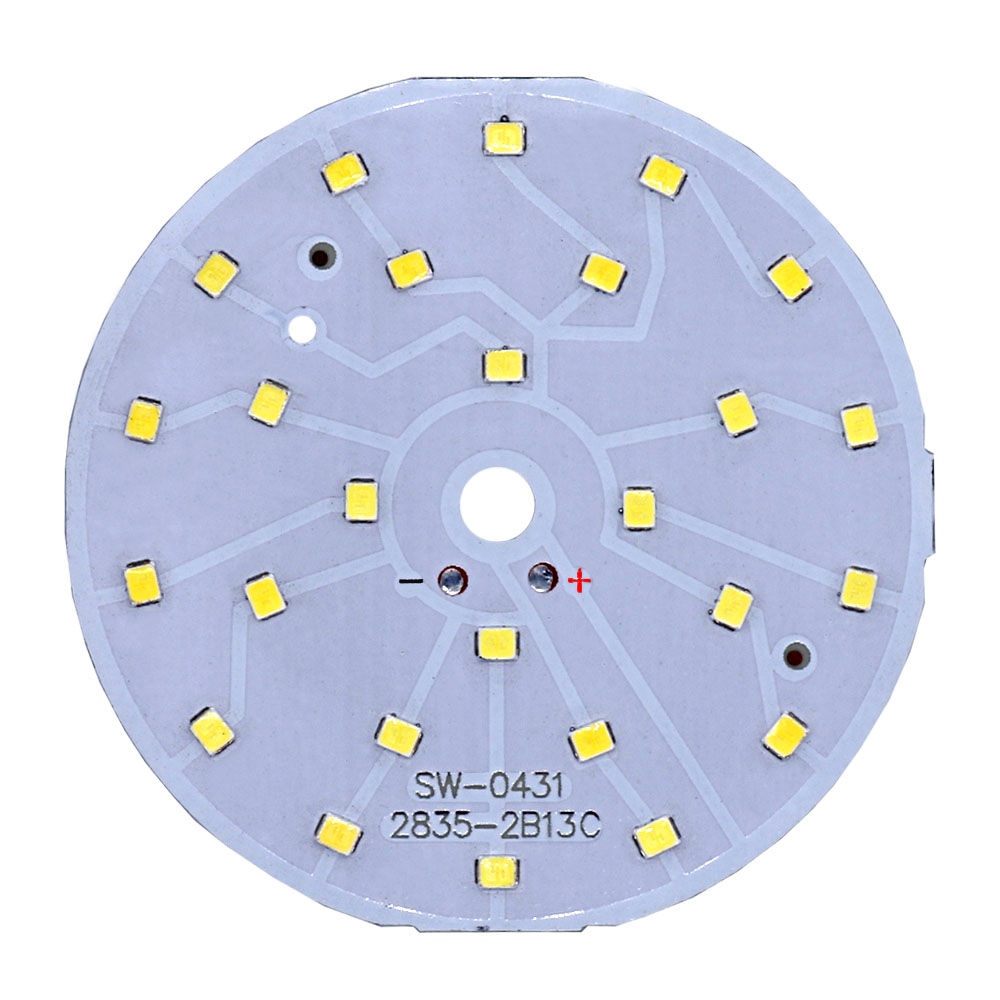 LED Chip Bulb Lamp SMD2835 Beads Kit LED Diode Round Light Source Board 3W 5W 7W 9W 12W 15W 18W For Lampada LED Spotlight White