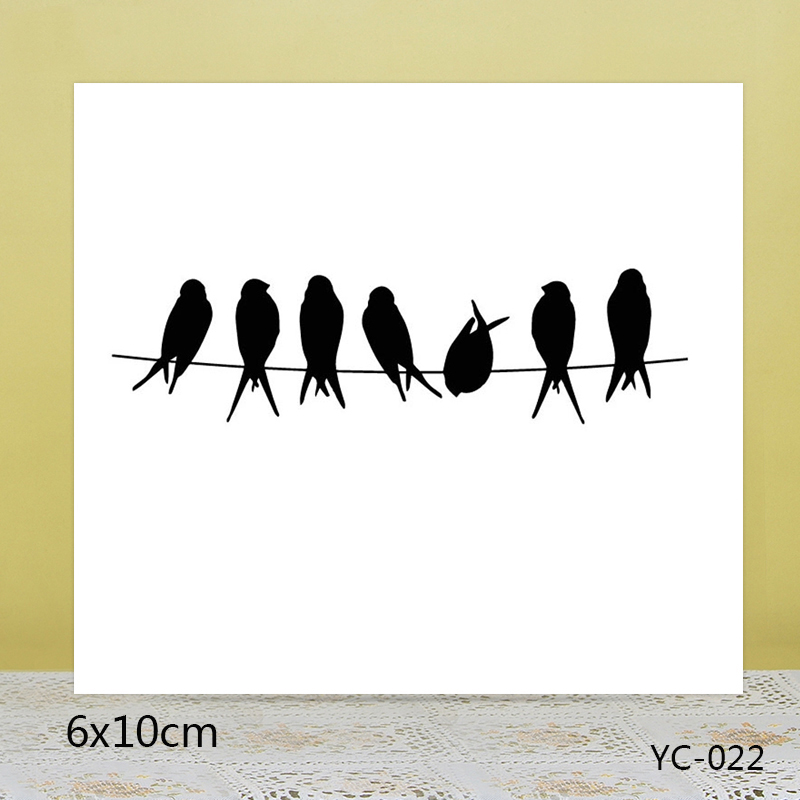 ZhuoAng a group of small partners Transparent seal / sealed DIY scrapbook album decoration card seamless