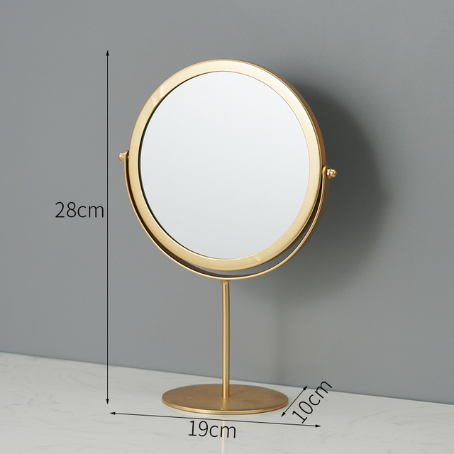 Metal Decorative Mirror Lady Desktop Makeup Mirror Crafts Dimensional Home Decor Accessories    WJ021710 6