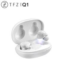 TFZ COCO Q1 TWS gerçek kablosuz Bluetooth 5.0 dinamik sürücü spor kulaklık HiFi ses AAC/ABC/SBC CVC + DSP çift gürültü azaltma