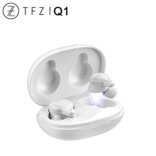 Tfz Coco Q1 Tws Tuur Draadloze Bluetooth 5.0 Dynamische Driver Sport Oortelefoon Hifi Audio Aac/Abc/Sbc Cvc + Dsp Dual Ruisonderdrukking