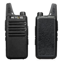 2pcs RETEVIS RT622 RT22 Professional Walkie Talkie Mini PMR446 PMR Radio FRS VOX Two Way Radio Comunicador Transceiver