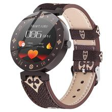 Reloj inteligente R88S para hombre y mujer, dispositivo deportivo resistente al agua, con control del ritmo cardíaco