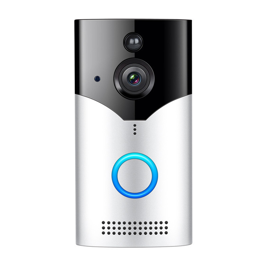 Wireless Night Vision Anti Theft Security HD WIFI Smart Easy Install 2 Way Talk Real Time Alarm Video Doorbell Detection Home