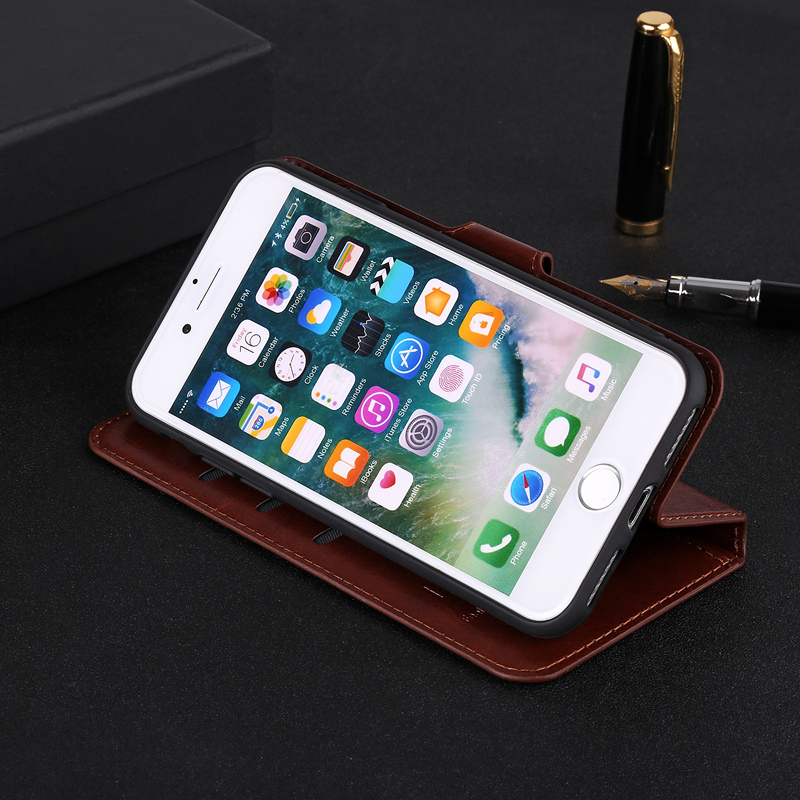Leather Flip Case <font><b>Lenovo</b></font> S60 S90 S850 S650 S820 S856 S860 S898 S920 S890 Vibe X <font><b>S960</b></font> S580 Stander Wallet Soft Back Cover Coque image
