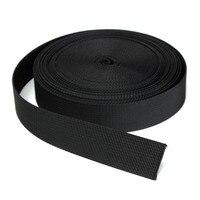 10 meter Schwarz Nylon Schwere Gurtband Rucksack Gürtel Band Kleidung Stoff Nähen Gürtel Handgemachte DIY Nähen Zubehör