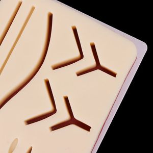 Image 2 - Silicone Human Skin Model Suture Practice Pad Training Practice Tool