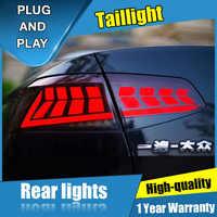 4 sztuk Car Styling dla Volkswagen Magotan Taillights 2017-2019 dla Magotan wszystkie tylna lampa LED + Turn Signal + Brake + rewers LED light