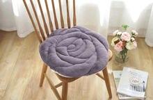 Зимний плюшевый розовый Подушка Анти скольжение теплая подушка