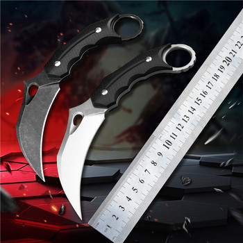 Steel Claw knives Hunting Knife  Tactical Claw  Camp Hike Outdoor Self Defense Hunting Survival Tools Knife D2  Karambit Knife цена 2017