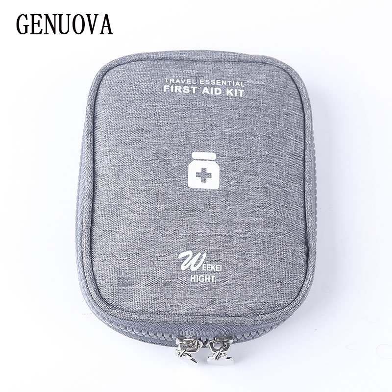 Travel Portable Medical Treatment Package First Aid Kit Medicine Bags Debris Finishing Organizers Bag Travel Accessories Pouch