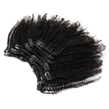 Eseewigs 4b 4c clip in hair extensions afro kinky curly brazilian