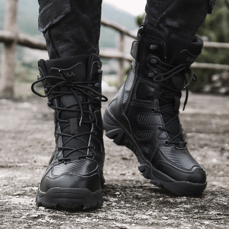 Hot Selling 2019 New Style Delta Combat Boots Men's Breathable Special Forces Hight-top Desert Tactical Boots Combat Boots