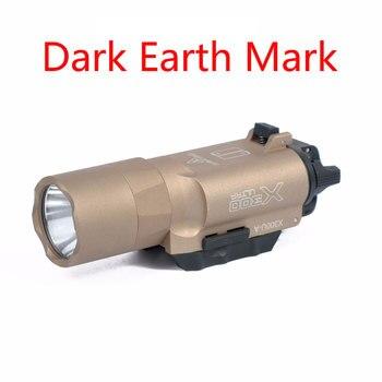 Hunting Tactical X300U Pistol Gun Light LED 500lm Flashlight Aluminum Military Army Equipment