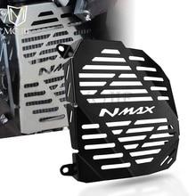 Para yamaha nmax 155 N-MAX max155 nmax155 N-MAX155 2015-2018 motocicleta grade de radiador guarda capa protector acessórios do tanque