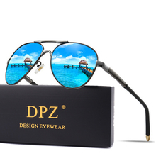 2019 Aluminum Magnesium Men Sunglasses Driving Polarized Coating Mirror Eyewear