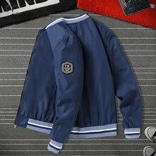 Men's Windbreaker Bomber Jackets Pilot Military Casual Baseball Coat Male Clothing 2020 Autumn Slim Fit Jacket Men Outwear 4XL