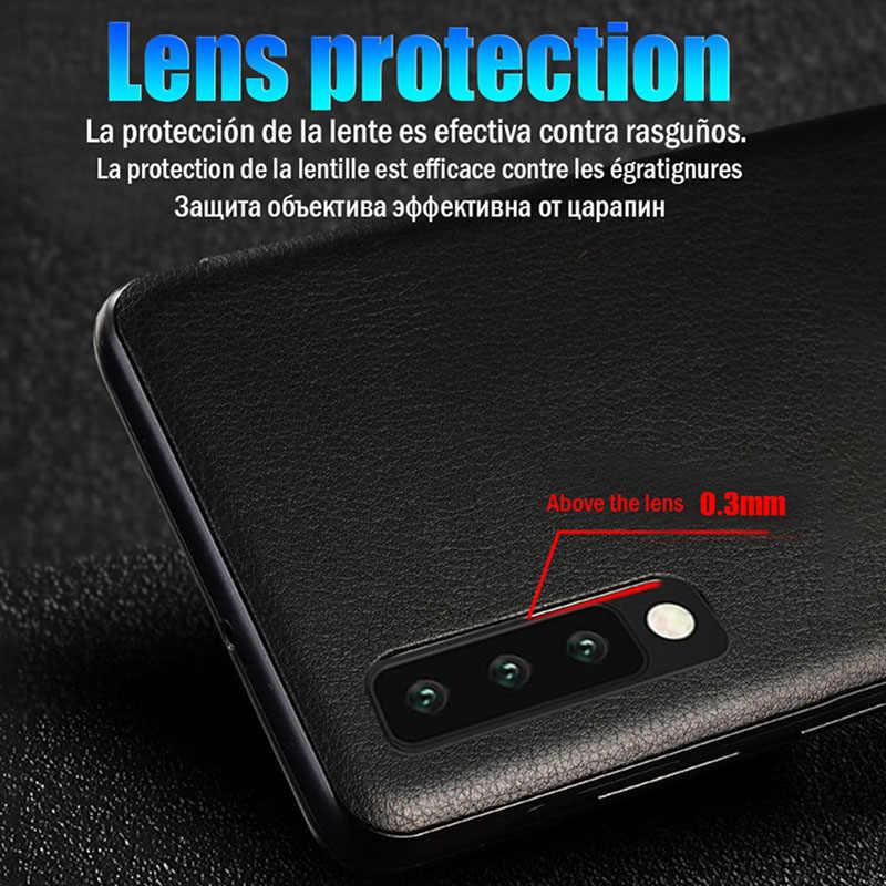 Per il caso di huawei p 30 pro smart view della copertura di protezione per hauwei huawei p30 pro caso finestra di vibrazione del cuoio p30/p30pro coque copertura