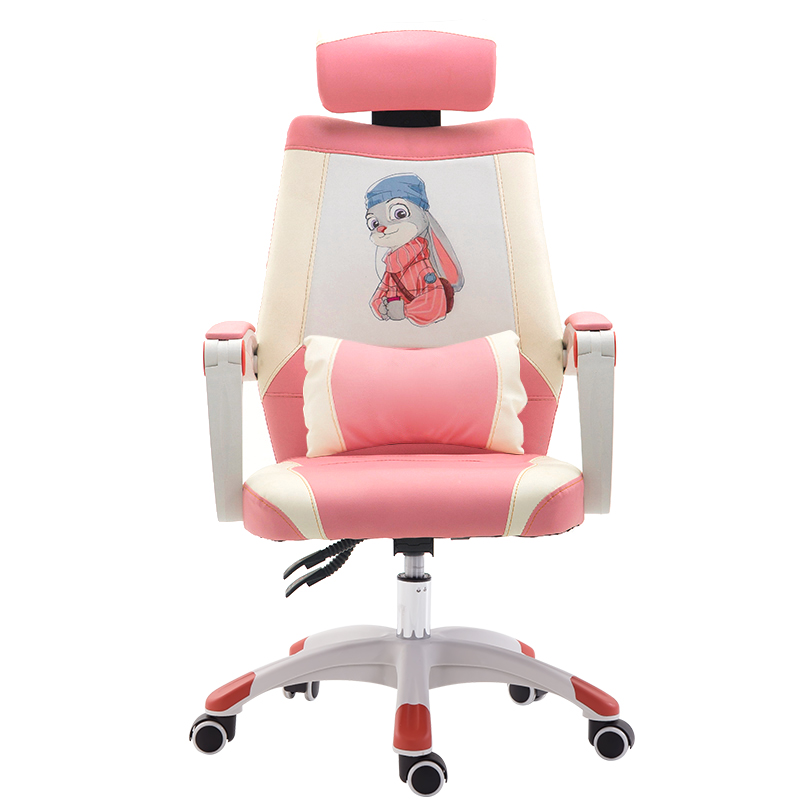 Nordic  Office Chair Female Computer Chair Student Massage Chair Boss  Office Furniture Economics Type Light Extravagant Fabric