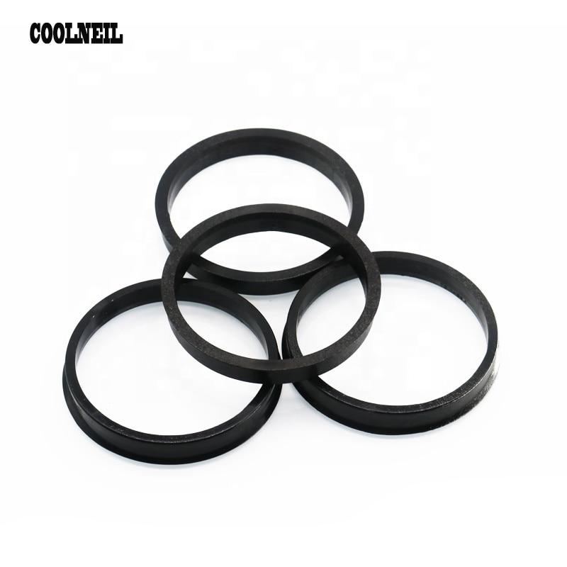 Jdm Accessories 4PSC 71.1 73.1mm To  63.4mm 64.1 56.1 60.1 66.1 54.1 Wheel Center Collar Hub Centric Ring Black Plastic