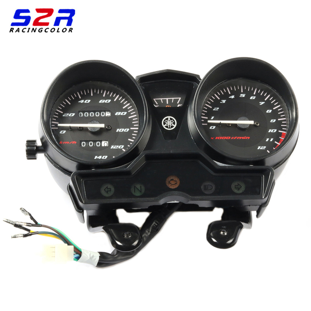 Tachymètre de Moto, jauge de vitesse, Instrument, horloge, sans moniteur de vitesse, pour YAMAHA YBR125 YBR YB 125 K YBR125K