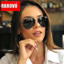 RBROVO 2019 Mirror Driving Sunglasses Women/Men Brand Design