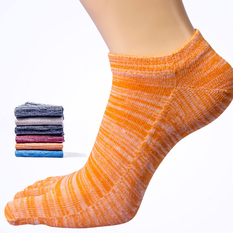 2019 Men Five Toe Socks Sports Socks Boys Cotton Finger Breathable Pure Sock