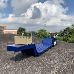 45cm Diecast 1:32 Scale Truck Model Toys Modification Scene Accessories Trailer Vehicle Traffic Transportation Scenario Display