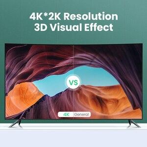 Image 3 - Ugreen HDMI Schalter 3D HD4K 3 Ports HDMI Adapter Splitter für PS4 Projektor Xbox Laptop mit IR Fernbedienung Schalter HDMI Hub